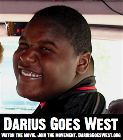 Picture of Darius. The teen from the movie Darius Goes West.