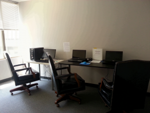 Computer lab at The IMAGE Center