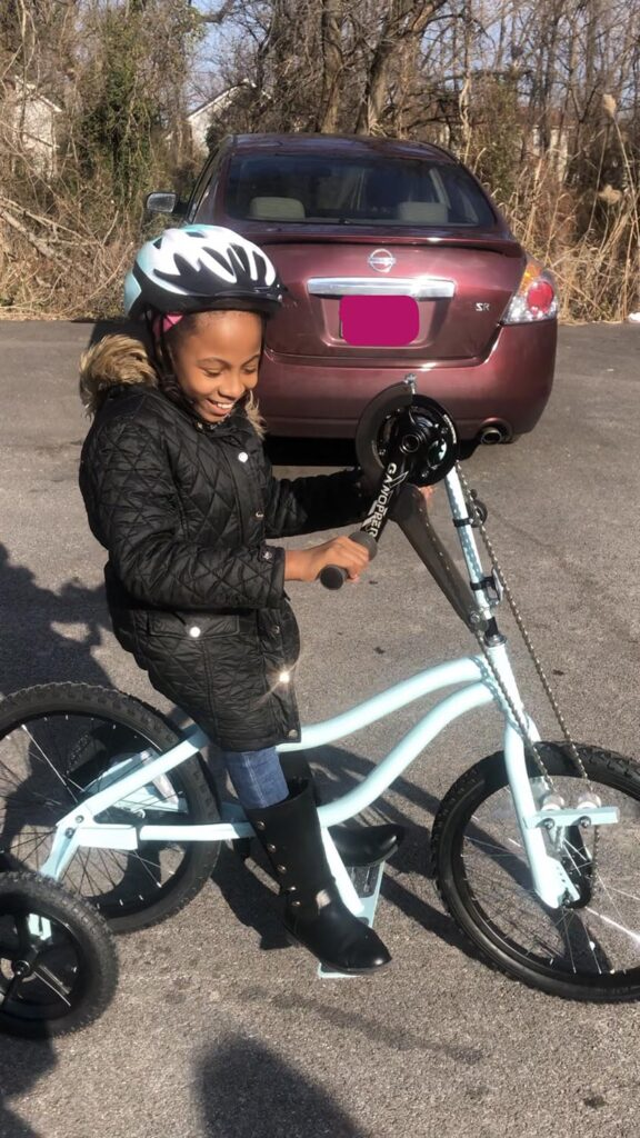 Miracle's bike